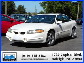 2004 PONTIAC BONNEVILLE SEDAN V6, 3.8 LITER SLE SEDAN 4D