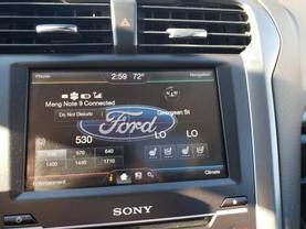 2015 FORD FUSION ENERGI SEDAN 4-CYL, HYBRID, 2.0 LITER PLUG-IN HYBRID TITANIUM SEDAN 4D