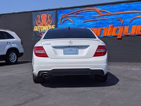 2014 MERCEDES-BENZ C-CLASS COUPE 4-CYL, TURBO, 1.8 LITER C 250 COUPE 2D