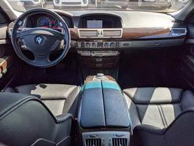2006 BMW 7 SERIES SEDAN V8, 4.8 LITER 750LI SEDAN 4D