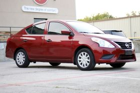 2016 Nissan Versa S Plus Sedan 4d  Rnd836858 - Image 1