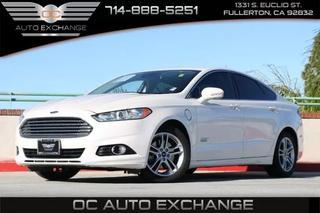 Oc Auto Exchange >> 2016 Ford Fusion Energi Plug In Hybrid Titanium Sedan 4d