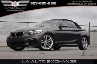 La Auto Exchange >> 2016 Bmw 2 Series 228i Convertible 2d