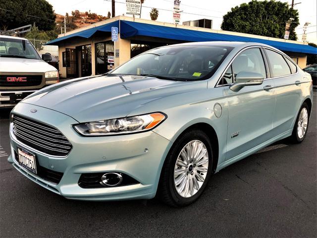 2014 Ford Fusion Tires >> 2014 Ford Fusion Energi Plug In Hybrid Titanium Sedan 4d