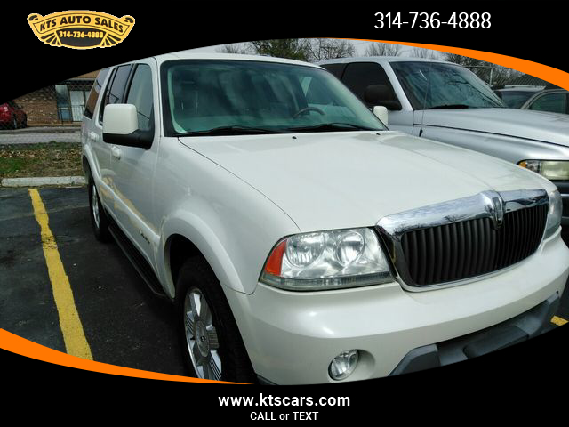 Lewis Clark Auto Sales >> USED LINCOLN AVIATOR 2003 for sale in Saint Louis, MO | KTS Auto Sales Inc