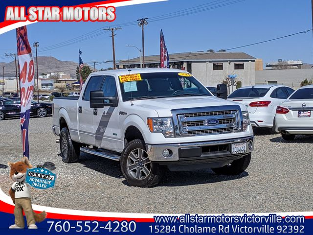 USED FORD F150 SUPERCREW CAB 2014 for sale in Victorville, CA | All Star Motors