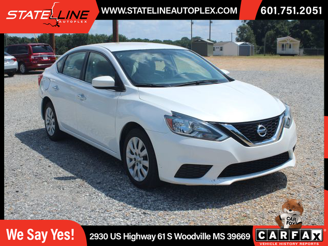 USED NISSAN SENTRA 2017 for sale in Woodville, MS ...